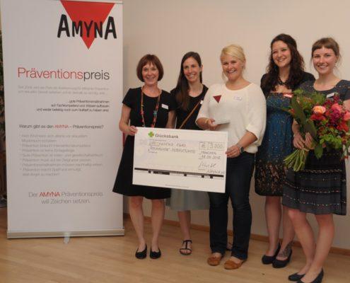 AMYNA-Präventionspreis - Preisträgerinnen 2017